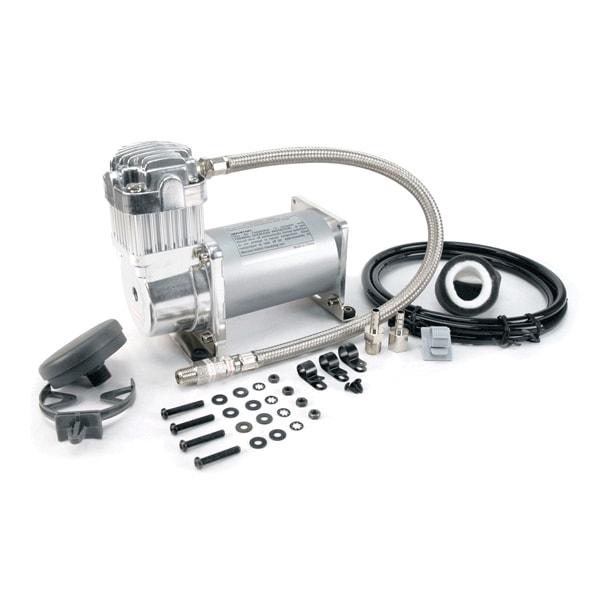 VIA32533 Viair 325C CHROME Compressor 33% Duty Cyle @ 100psi Max 150psi