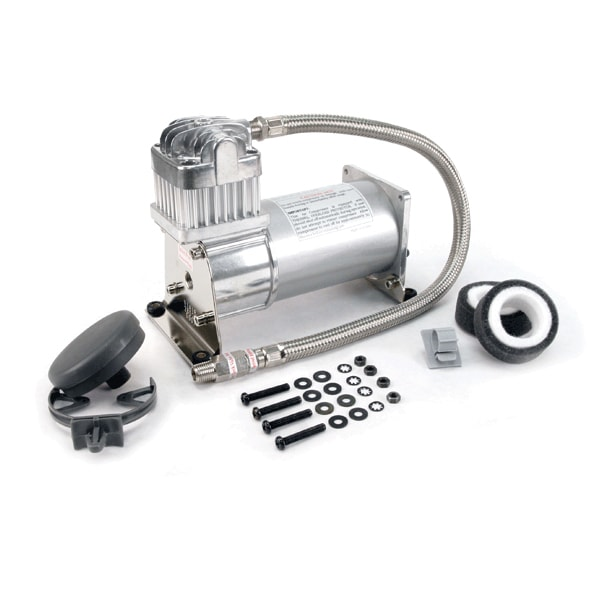 VIA28021 Viair 280C Pewter Compressor 30% Duty Cycle @ 100psi MAX 150psi