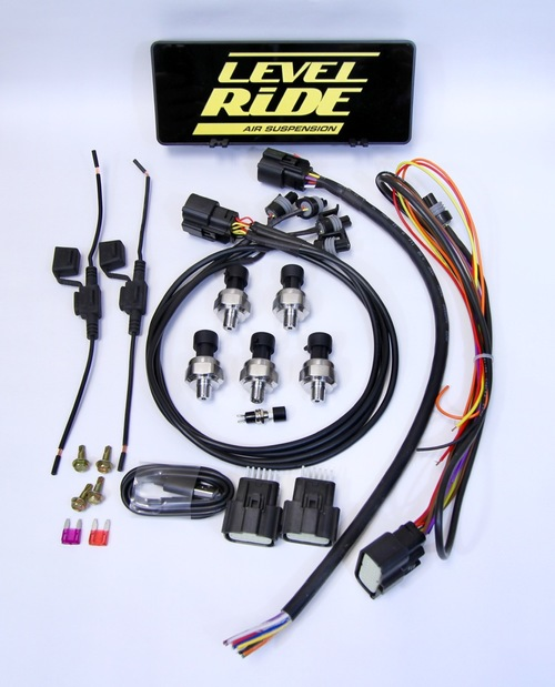 Level Ride Pressure Only Digital ride height controller LR-PO WITH CONTROLLER
