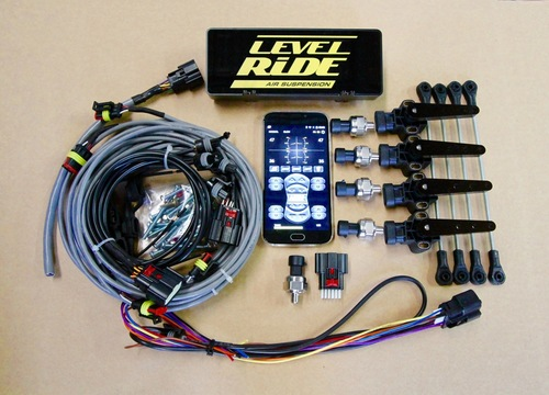 Level Ride Height & Pressure Digital ride height controller LR-H+P WITH CONTROLLER